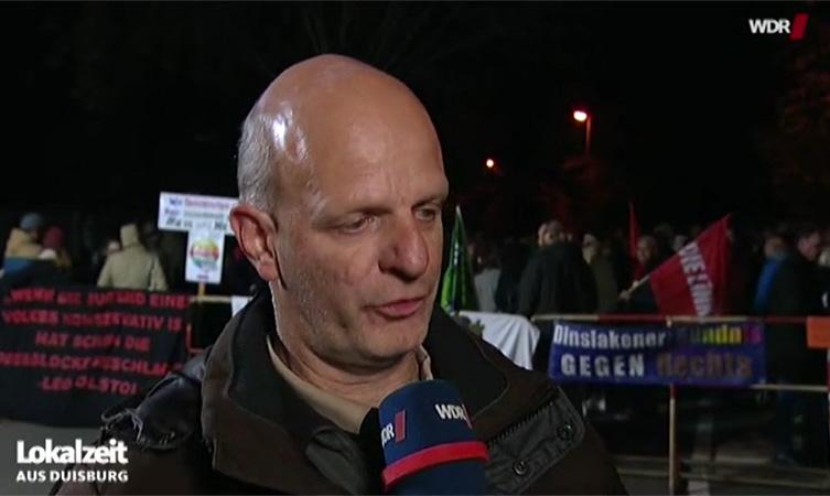 Stefan Zimkeit im WDR